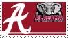 Alabama Stamp by nascarstones