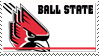 Ball State Stamp by nascarstones