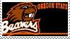Oregon State Stamp by nascarstones