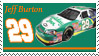 Jeff Burton Stamp Nationwide by nascarstones