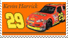 Kevin Harvick Stamp 'Reese' by nascarstones