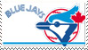 Toronto Blue Jays Stamp 90s by nascarstones