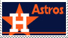 Houston Astros Stamp 70s by nascarstones
