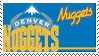 Denver Nuggets Stamp by nascarstones
