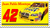 Juan Montoya Stamp JuicyFruit by nascarstones