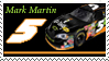 Mark Martin Stamp 'NW' by nascarstones