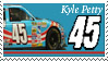 Kyle Petty Stamp 'PVA' by nascarstones