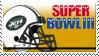 Super Bowl 3 'NY Jets' by nascarstones