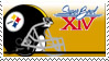 Super Bowl 14 'Pittsburgh' by nascarstones