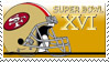 Super Bowl 16 'San Fran' by nascarstones