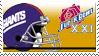 Super Bowl 21 'NY Giants' by nascarstones