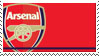 Arsenal F.C. Stamp by nascarstones