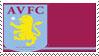 Aston Villa F.C. Stamp by nascarstones