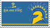 San Jose State Stamp by nascarstones