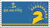 San Jose State Stamp by nascarstones