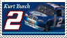 Kurt Busch Stamp by nascarstones