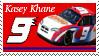 Kasey Khane Stamp 'NW' by nascarstones