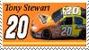 Tony Stewart Stamp NW by nascarstones