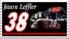 Jason Leffler Stamp by nascarstones