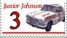 Junior Johnson Stamp by nascarstones