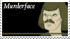 Murderface Stamp by nascarstones