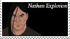 Nathan Explosion Stamp by nascarstones