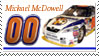 Michael McDowell Stamp Cup by nascarstones
