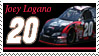 Joey Logano Stamp 'GameStop' by nascarstones