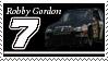 Robby Gordon Stamp 'black' by nascarstones