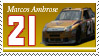 Marcos Ambrose Stamp 'HB' by nascarstones