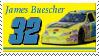 James Buescher Stamp by nascarstones