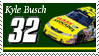 Kyle Busch Stamp 'Haas' by nascarstones