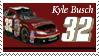Kyle Busch Stamp 'wine' by nascarstones