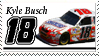 Kyle Busch Stamp 'Snickers' by nascarstones