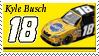 Kyle Busch Stamp 'Pedi' by nascarstones