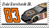 Dale Earnhardt Jr. Stamp NAVY by nascarstones
