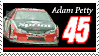 Adam Petty Stamp by nascarstones