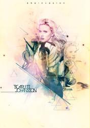 Scarlett Johansson by abeinvasion