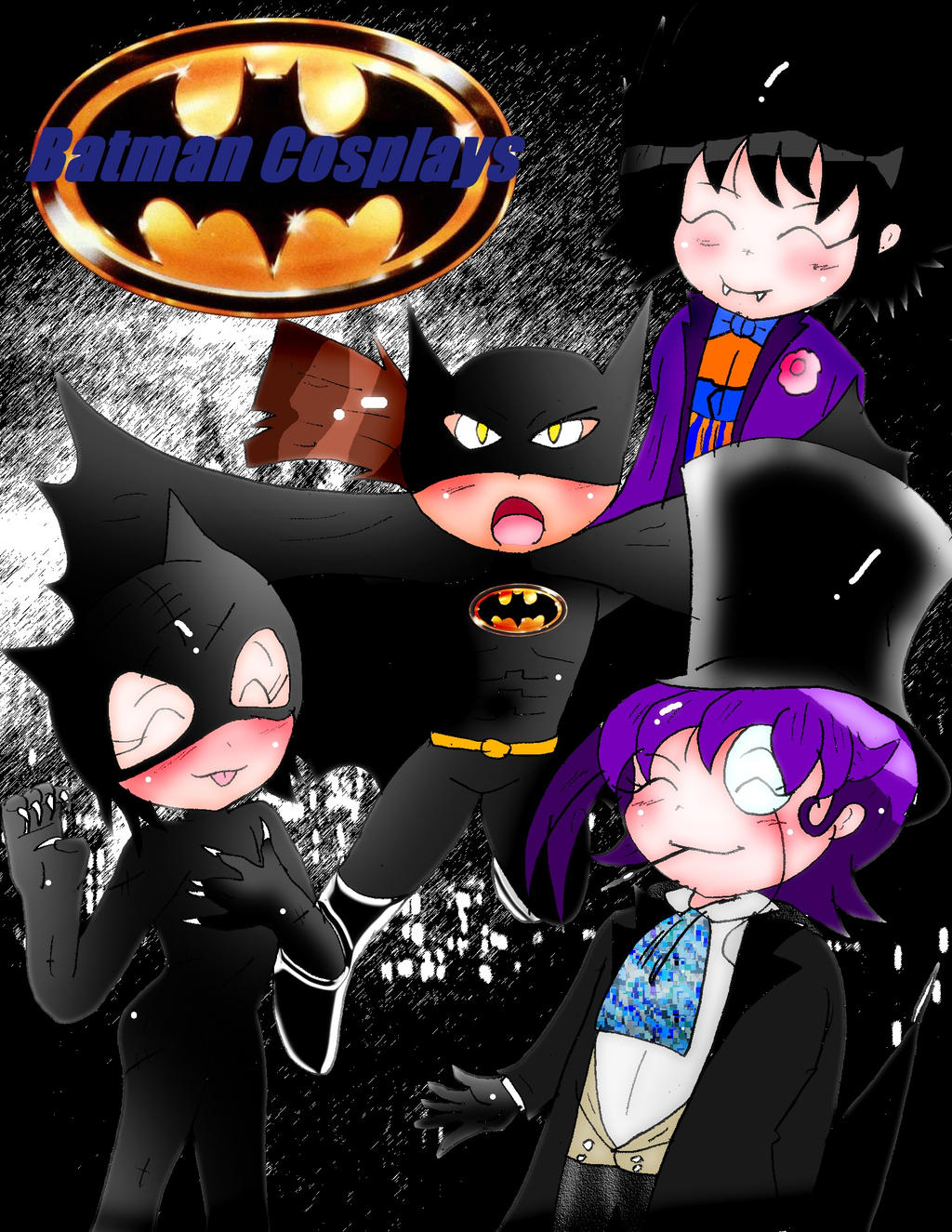 Batman Cosplays -Tim Burton- by Rokku-D