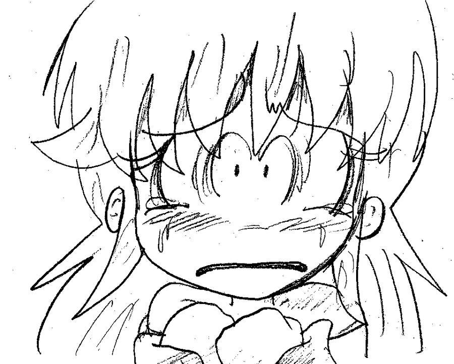 Frighted Aluma by Rokku-D