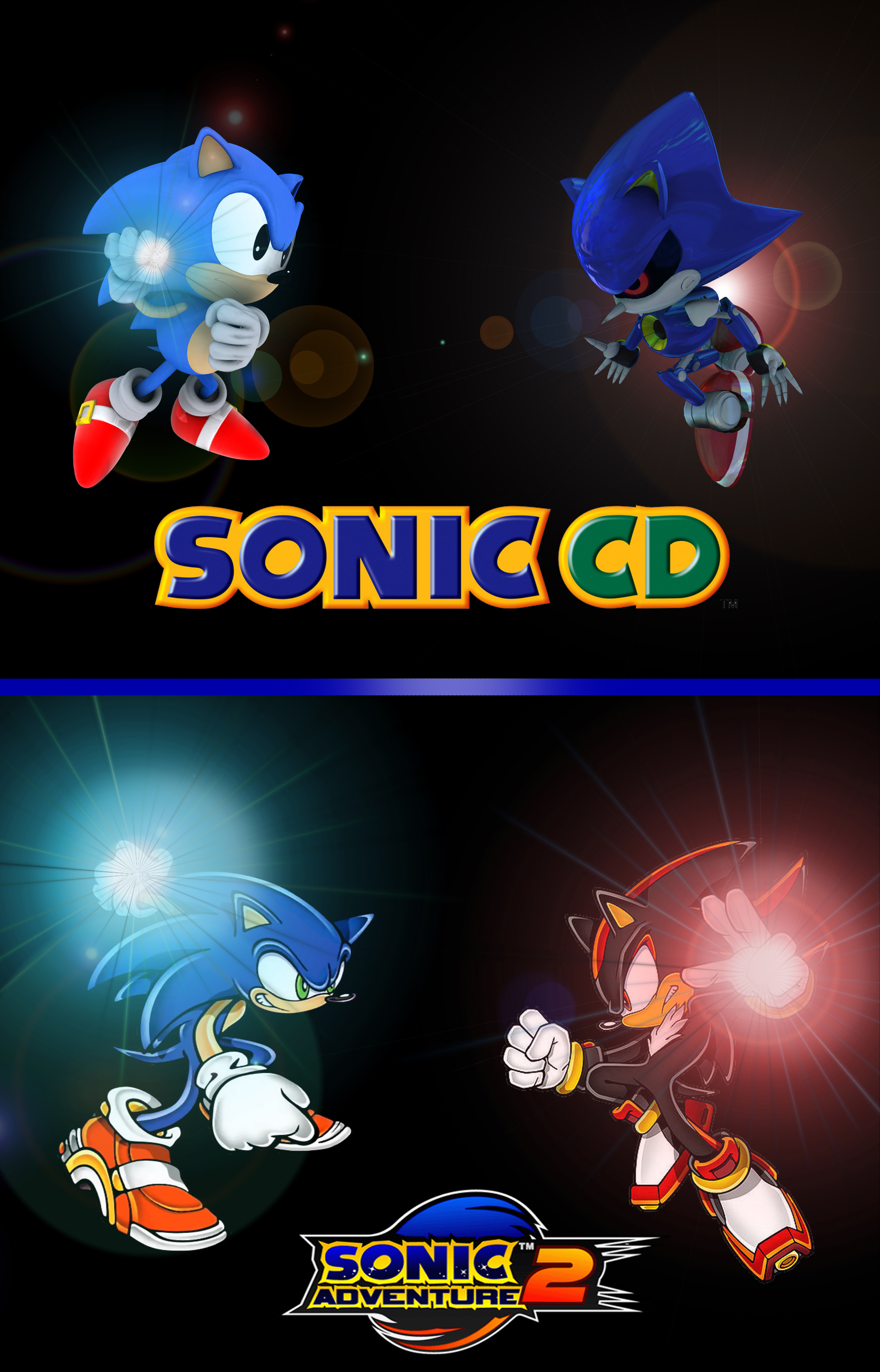 how to become super sonic in sonic cd