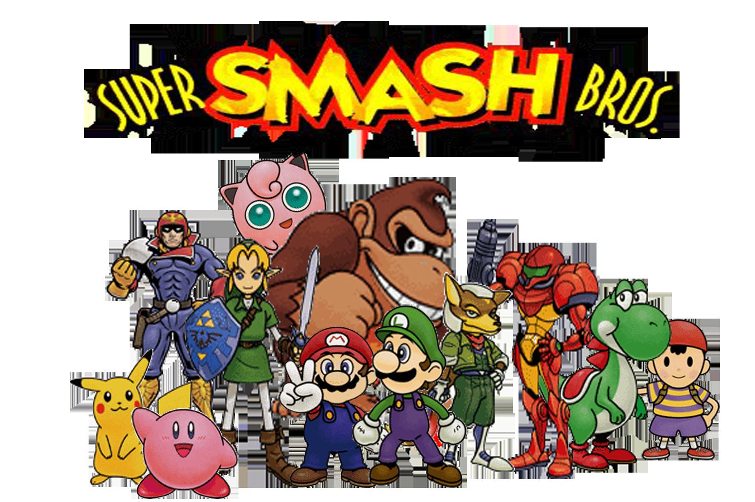 Super Smash Bros 64 by Rokku-D