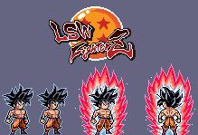 Goku Ultra Instinct 'Omen' (LSW Fighterz) by thekrillmaster