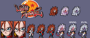 Android 21 (LSW Fighterz) by thekrillmaster