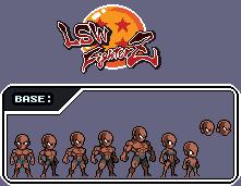Base sprite (LSW FIGHTERZ) by thekrillmaster