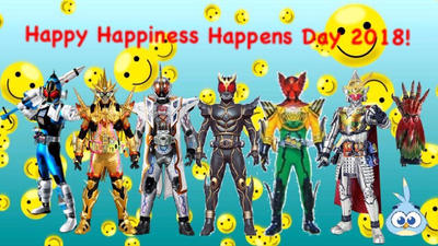 Happy Happiness Happens Day 2018! by RaphaelFernandez2001