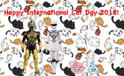 Happy International Cat Day 2018! by RaphaelFernandez2001