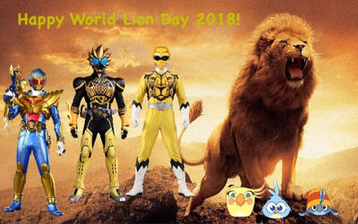 Happy World Lion Day 2018! by RaphaelFernandez2001