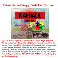 Tokusatsu and Angry Birds Fan For Hire by RaphaelFernandez2001