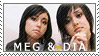 Meg And Dia STAMP by SunkissedSuicide